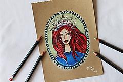 Kresby - Kráľovná všetkého magického - 11013128_