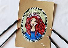 Kresby - Kráľovná všetkého magického - 11013129_