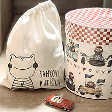 Detské tašky - Vrecko LiLu - žabka - 11012112_