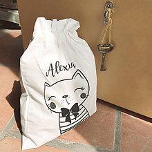 Iné tašky - Vrecko LiLu - mačička - 11012568_