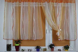 Úžitkový textil - Záclona Joana - 11013629_