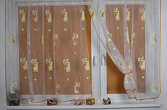 Úžitkový textil - Záclona okno do sveta - 11013947_