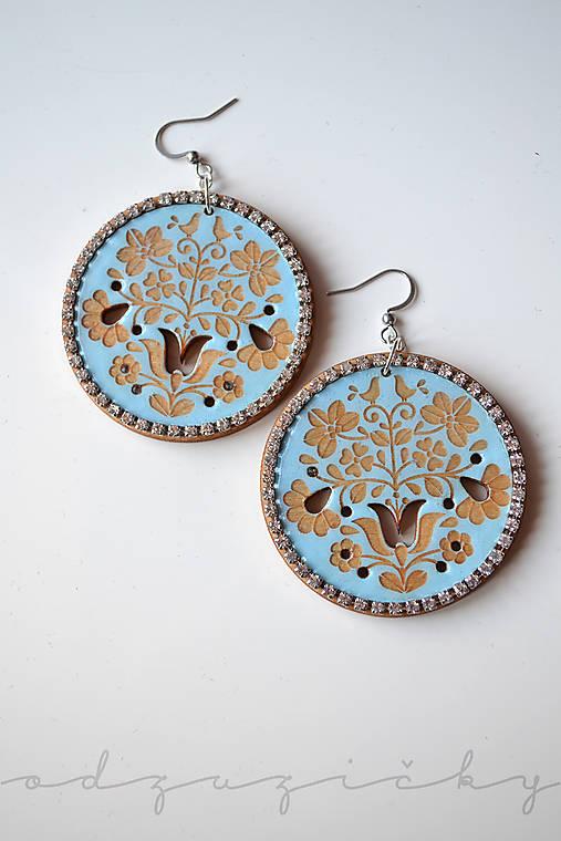 Náušničky Dorka (Modrá)