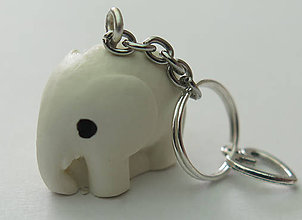 Kľúčenky - Klúčenka Malý sloník - 11012835_