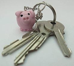 Kľúčenky - Klúčenka Prasiatko - 11012848_