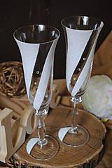 Nádoby - Svadobné poháre - 11016280_