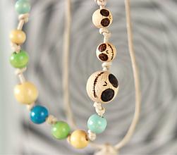 Náhrdelníky - Creepy dolls náhrdelník - 11015262_
