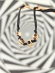 Náhrdelníky - Creepy dolls náhrdelník - 11015267_