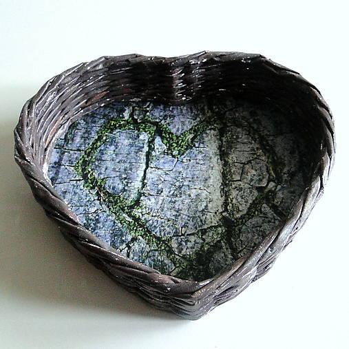 Košík-srdiečko  (zelené srdce)
