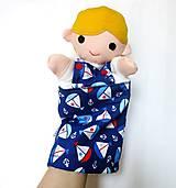 Hračky - Maňuška chlapec - na objednávku - 11015183_