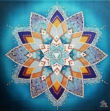 Obrazy - Mandala Daru inšpirácie a komunikácie - 11015905_