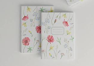 Papiernictvo - Zošit Písanka | Lúčne tance | A5, čisté strany - 11015549_