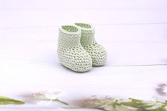 Topánočky - Mentolové letné papučky EXTRA FINE - 11015589_