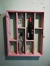 Nábytok - Polica na víno - 11015256_