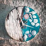 Hodiny - Marine _ Živicové drevené hodiny - 11016419_