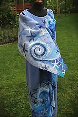 Šaty - Maľba na šaty... - 11016392_
