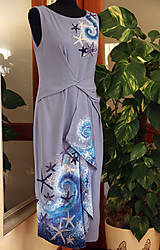 Šaty - Maľba na šaty... - 11016393_