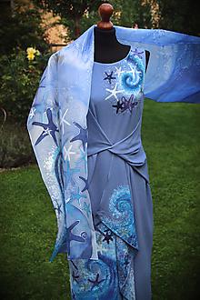 Šaty - Maľba na šaty... - 11016447_