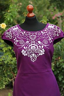 Šaty - Maľba na šaty... - 11016529_