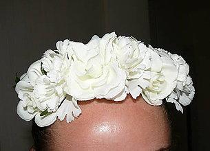Ozdoby do vlasov - Kvetinový venček :) - 11016312_
