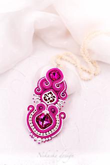 Náhrdelníky - Šujtášový náhrdelník Art deco I. - 11014716_