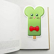 Papiernictvo - Nanuk záložka do knihy - myš - 11015539_