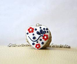 Náhrdelníky - Folk náhrdelník - Elenka - 11017613_