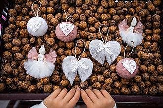 Dekorácie - Mini sada na vianočný stromček - 11017192_