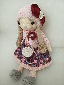 Hračky - Háčkovaná bábika - 11016784_