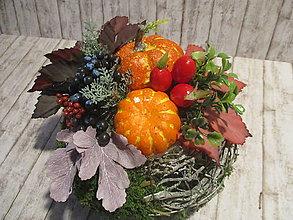 Dekorácie - Jesenná dekorácia - 11018155_
