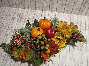 Dekorácie - Jesenná dekorácia - 11018182_