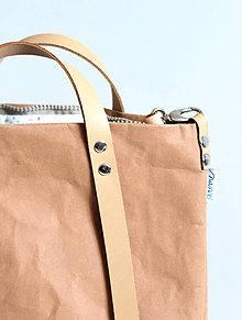 Veľké tašky - Kabelka - taška na kočík (väčšia) (svetlo hnedá) - 11018561_