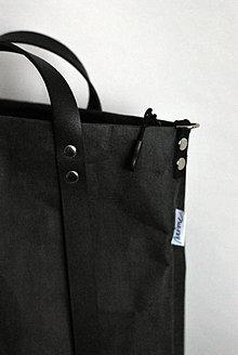 Veľké tašky - Kabelka - taška na kočík (menšia) (čierna) - 11018577_