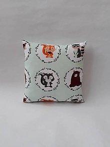 Textil - Vankúšik - mini - zvieratká - 11018300_