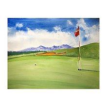 Obrazy - Na golfe - 11017719_