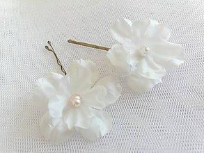 Ozdoby do vlasov - Sponky kvety - 11017892_
