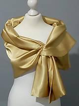 štóla k spoločenským šatám (36,38,40 - Zlatá)