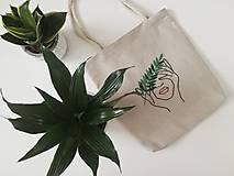 Iné tašky - Vyšívaná taška - 11017769_