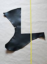 Suroviny - Zbytková hladenica čierna 2mm - 11018435_