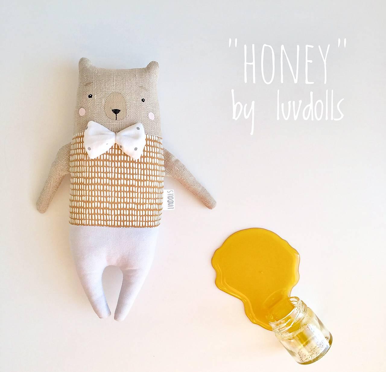 "Hračky - Little Bear ""Honey"" - 11018445_"