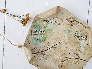 Nádoby - Keramická miska bylinková - 11020666_