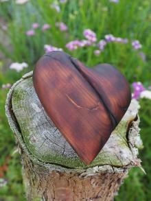 Dekorácie - Čerešňové srdce - 11018742_