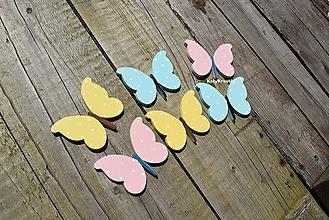 Dekorácie - motýle....3 - 11019406_