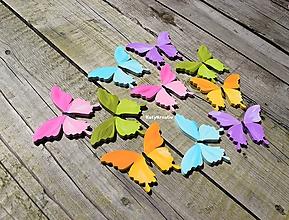 Detské doplnky - motýle.....5 - 11019446_