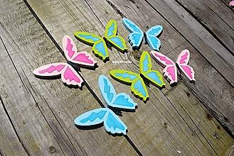 Detské doplnky - motýle...6 - 11019455_