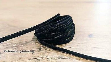 Galantéria - Sutaška 3 mm (Čierna) - 11020936_