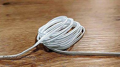 Galantéria - Sutaška 3 mm (Biela) - 11020938_