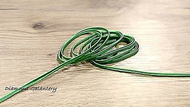 Galantéria - Sutaška 3 mm (Zelená) - 11020943_