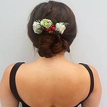 """Ozdoby do vlasov - Vintage hrebienok """"Lesana"""" - 11020556_"""