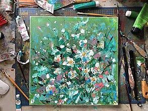 Obrazy - Kvety na lúke - 11019336_